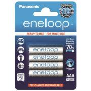 Tölthető AAA elem Eneloop, Panasonic 4db
