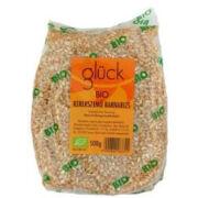 Barna rizs kerekszemű bio, Glück
