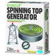 Készíts forgó tetejű generátort