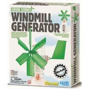 Készíts szélmalom generátort