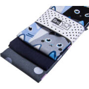 Textil zsebkendő 3 db-os, BlessYou (Női-Cicás)