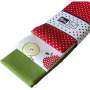 Textil zsebkendő 3 db-os, BlessYou (Gyerek-Alma)