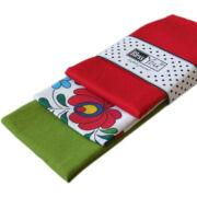 Textil zsebkendő 3 db-os, BlessYou (Női-Kalocsai)