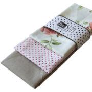 Textil zsebkendő 3 db-os, BlessYou (Női-Vintage rózsa)