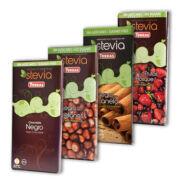 Étcsokoládé steviával, Torras