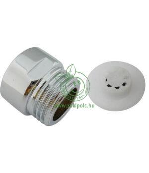 Víztakarékos zuhanyfej csatlakozó (8liter/perc)