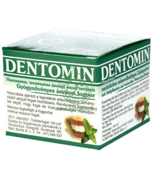 Dentomin gyógynövényes fogpor