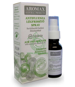 Légfrissítő spray Aromax (eukaliptusz)