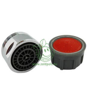 Víztakarékos perlátor fémgyűrűvel (külső,6liter)