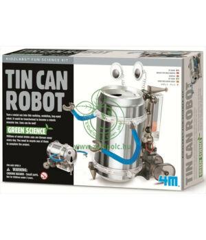 Készíts aludobozos robotot