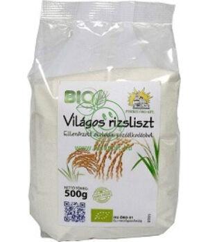 Bio világos rizsliszt, Piszkei