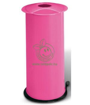 Pet palack tömörítő, kézi (rózsaszín)