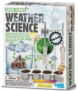 Készíts időjárás kísérleteket