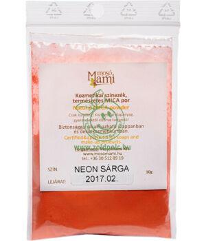 Ásványi színezék por, Mica (neonnarancs)