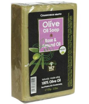 Olívaszappan, görög (rózsa-mandula olaj)