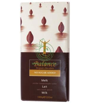 Belga csokoládé maltitollal, Balance (tejcsokoládé)