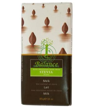 Belga csokoládé steviával, Balance (tejcsokoládé)