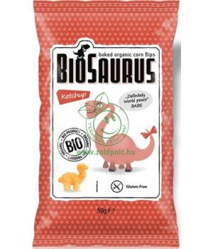 BioSaurus kukoricás snack (ketchupos)