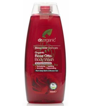 Dr. Organic tusfürdő (rózsa)