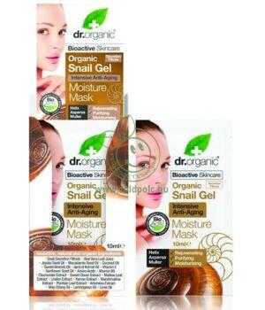 Dr. Organic csigagél hidratáló arcpakolás