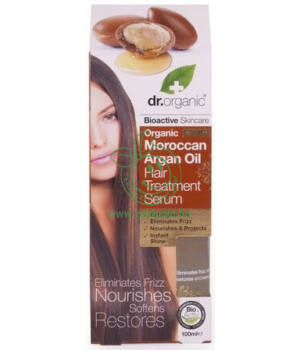 Dr. Organic hajápoló szérum (argán olaj)