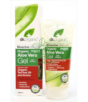 Dr. Organic gél teafa olajjal (aloe vera)