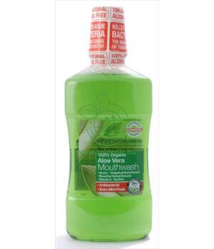 Dr. Organic szájvíz (aloe vera)