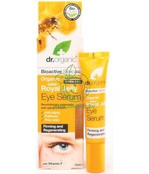 Dr. Organic szemkörnyék ápoló szérum (méhpempő)