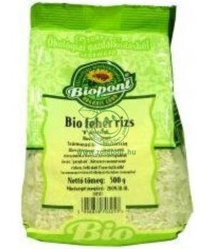 Fehér rizs hosszú szemű bio, Biopont