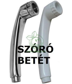 Víztakarékos zuhanyfej betét, Turbo (fekete)