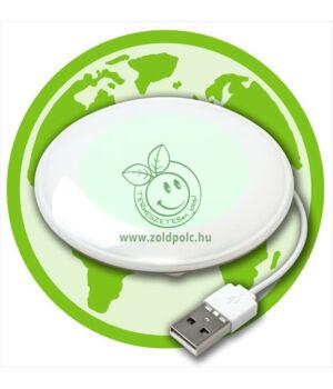 Zöld készenléti gomb számítógéphez