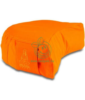 Huzat félhold meditációs párnához (narancs)