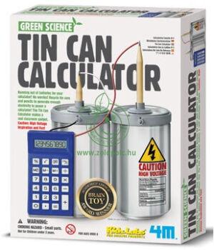 Készíts aludobozos számológépet