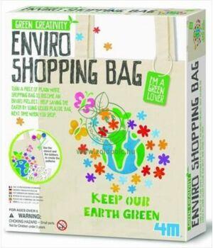 Készíts környezetbarát bevásárlótáskát