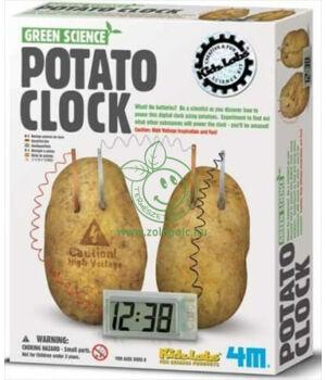 Készíts krumpli órát