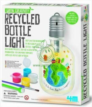Készíts PET palack lámpát