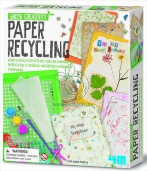 Készíts újrapapír üdvözlőlapot