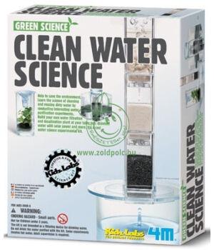 Készíts víztisztító berendezést