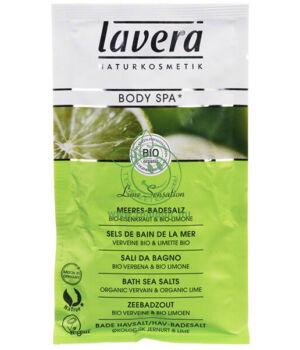Lavera Body Spa fürdősó (lime-vasfű)