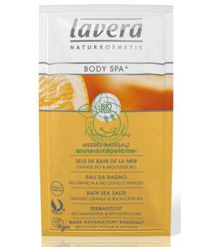 Lavera Body Spa fürdősó (narancs-homoktövis)