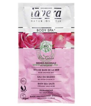 Lavera Body Spa fürdősó (vadrózsa)