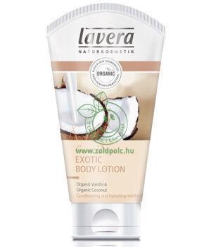 Lavera Body Spa testápoló (egzotikus vanília-kókusz)