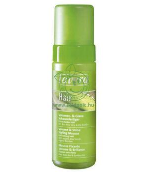 Lavera Hair hajformázó volumennövelő hab