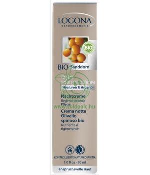 Logona éjszakai krém, age protection (30ml)