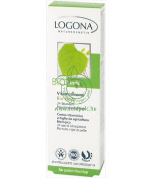 Logona vitaminos krém bio (hársfavirág)