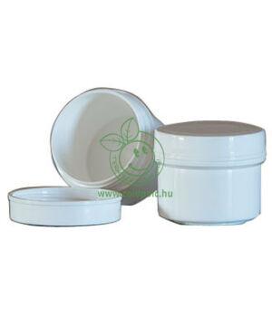 Műanyag tégely, fehér (15ml)