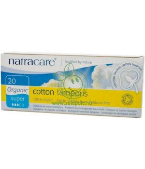 Natracare tampon (super,20db)
