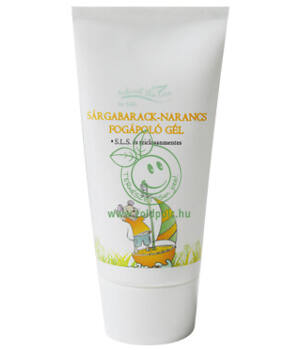 Natural Skin Care sárgabarack- narancs foggél