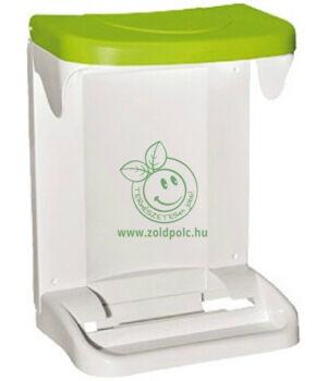 Szelektív szemetes szekrényajtóra (zöld)