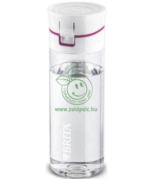 Vízszűrős palack, Brita Fill and Go (rózsaszín)